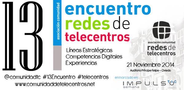 Asistencia a la Asamblea y el Encuentro de las Redes de Telecentros