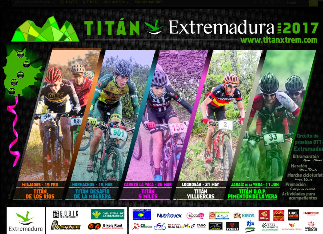 Patrocinadores Oficiales Titán Xtrem Tour