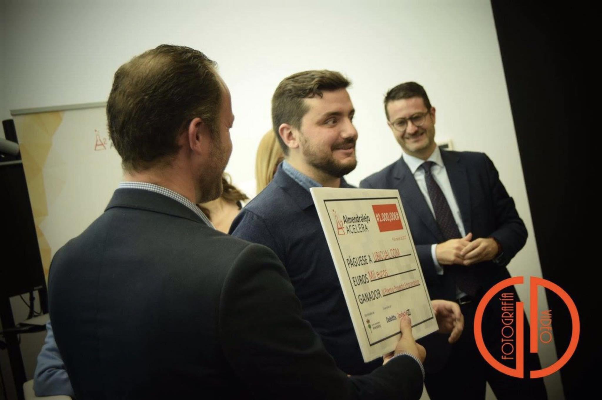 Ubicual Recibe el Tercer Premio Proyecto Emprendedor